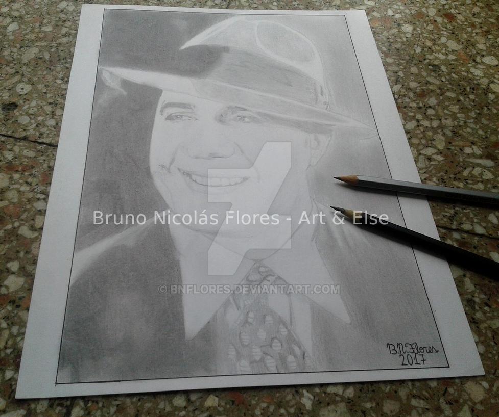 Carlos Gardel by BNFlores