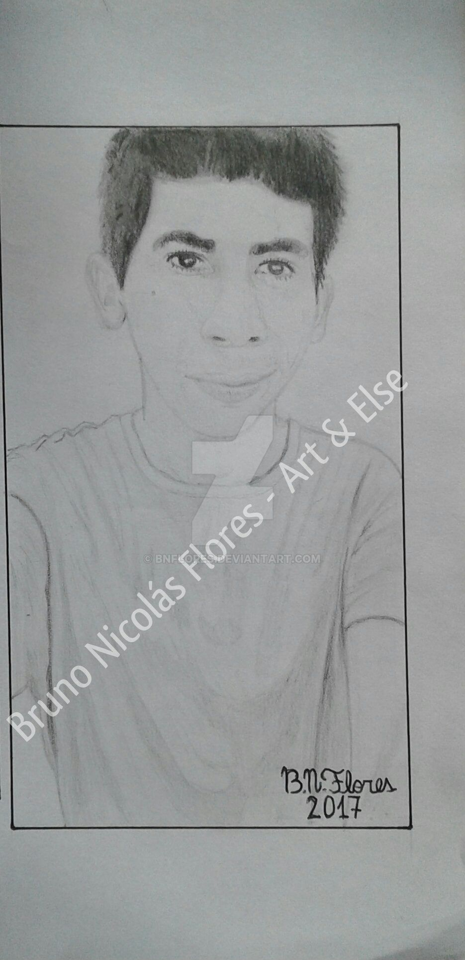 Selfportrait by BNFlores