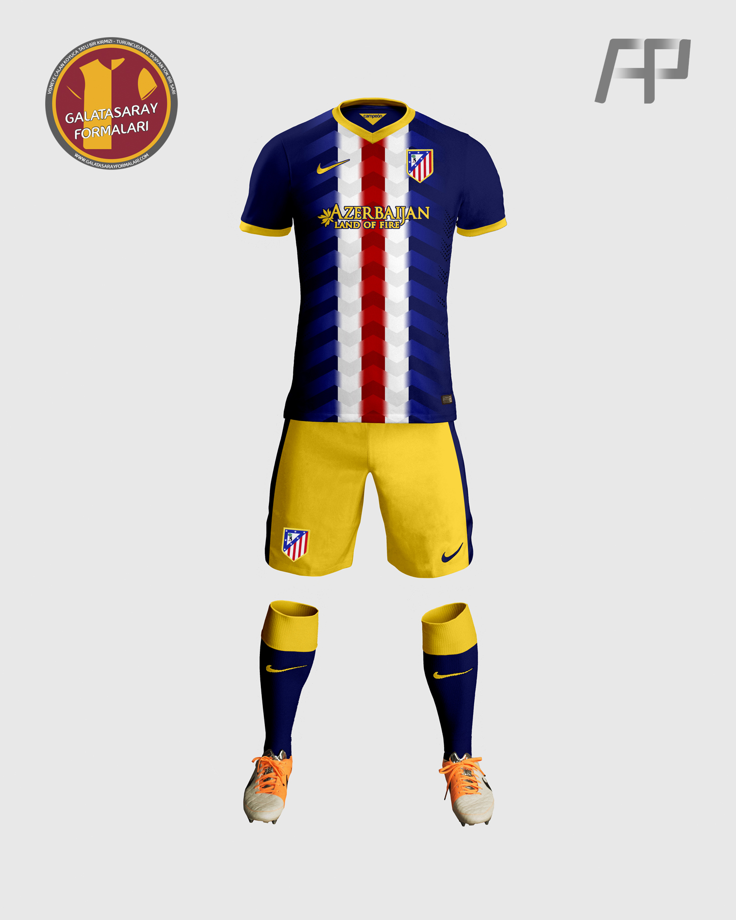 Atletico Madrid Away Kit Design by ayyberk on DeviantArt