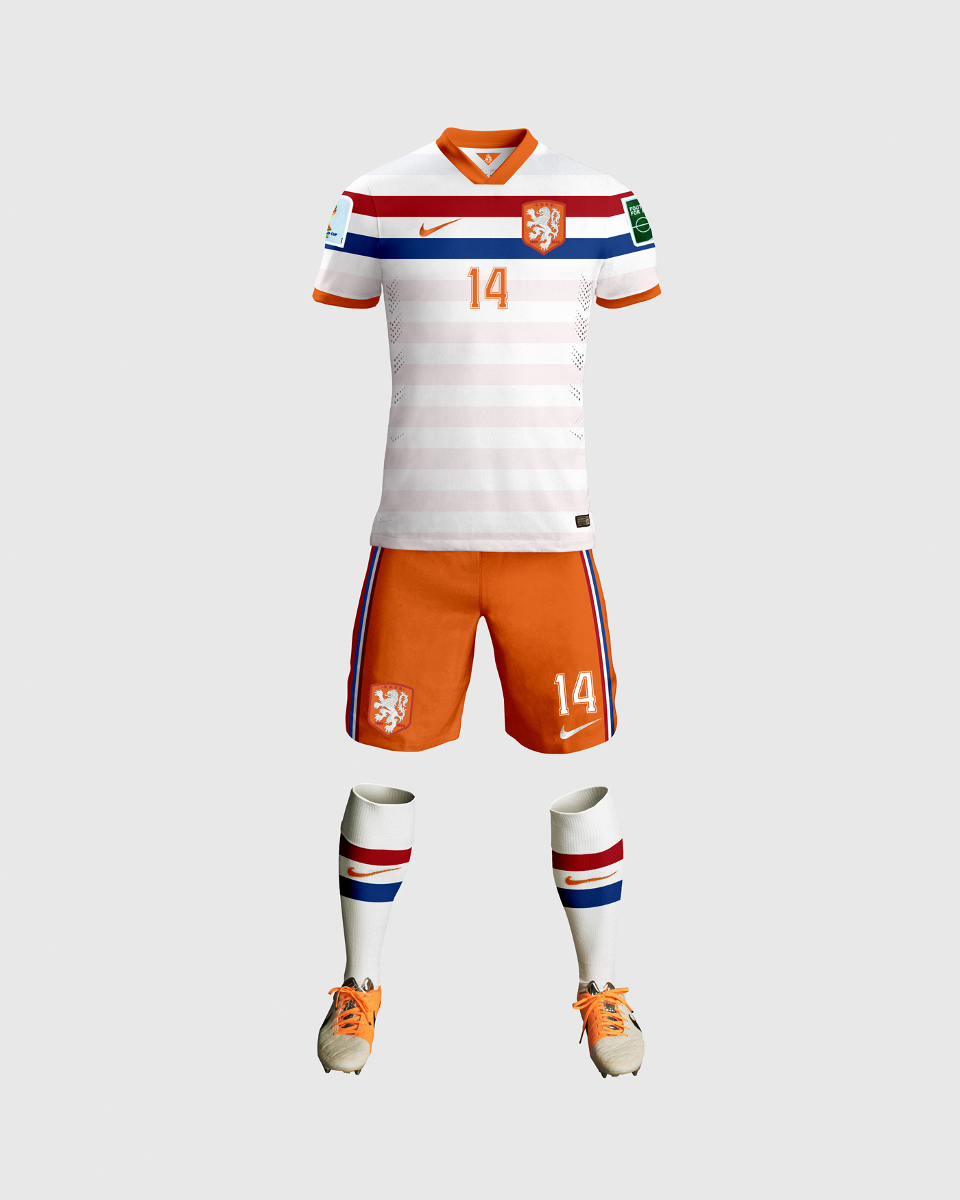 timeless design ca765 66fc7 Netherlands Away Kit Design by ayyberk on DeviantArt