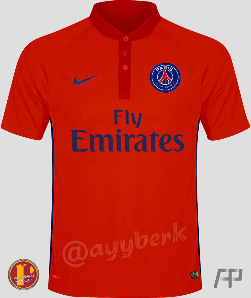 finest selection 7eba6 47cc1 PSG 2014 - 2015 Troisieme (Orange) Maillot - 1 by ayyberk on ...