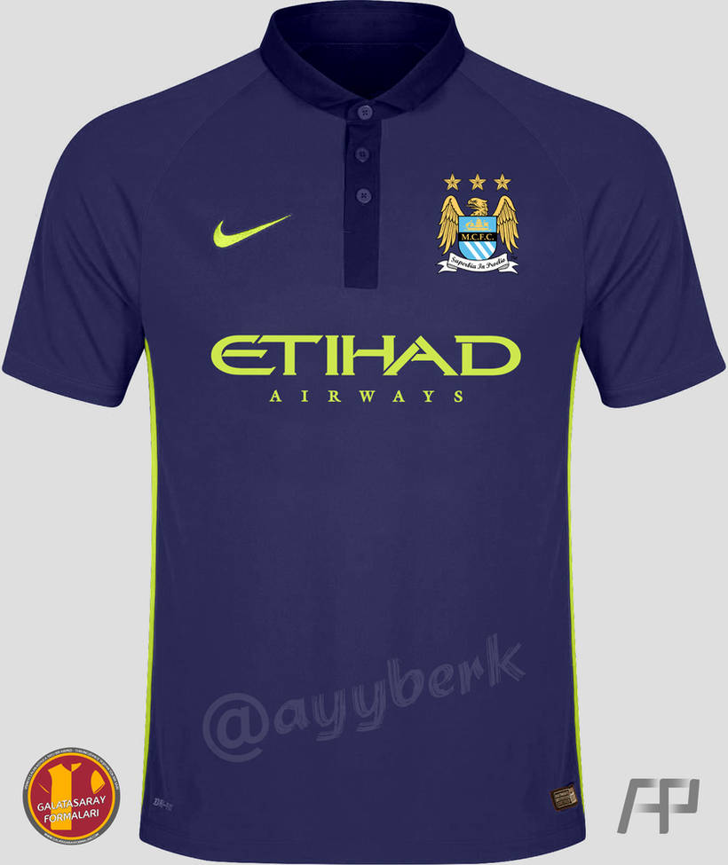 buy popular e26cb 184d9 Manchester City 2014 - 2015 Third (Purple) Jersey by ayyberk ...