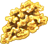 Gold Nugget by TokoTime