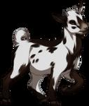 Piebald Pygmy Goat by TokoTime