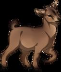 Caramel Pygmy Goat by TokoTime