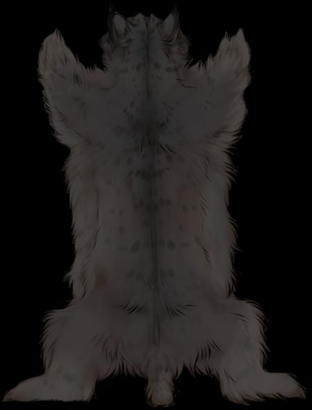 Melanistic Lynx Pelt By TokoTime