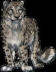 Dark Snow Leopard by TokoTime