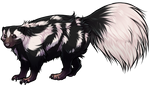 Spotted Skunk Companion by TokoTime
