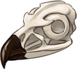 Eagle Skull by TokoTime