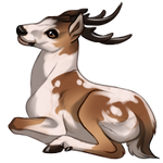 Piebald Deer by TokoTime
