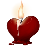 Heart Candle by TokoTime