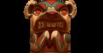 Beaver Totem by TokoTime