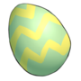 Striped Egg by TokoTime