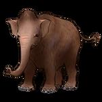 Mammoth Calf Companion by TokoTime