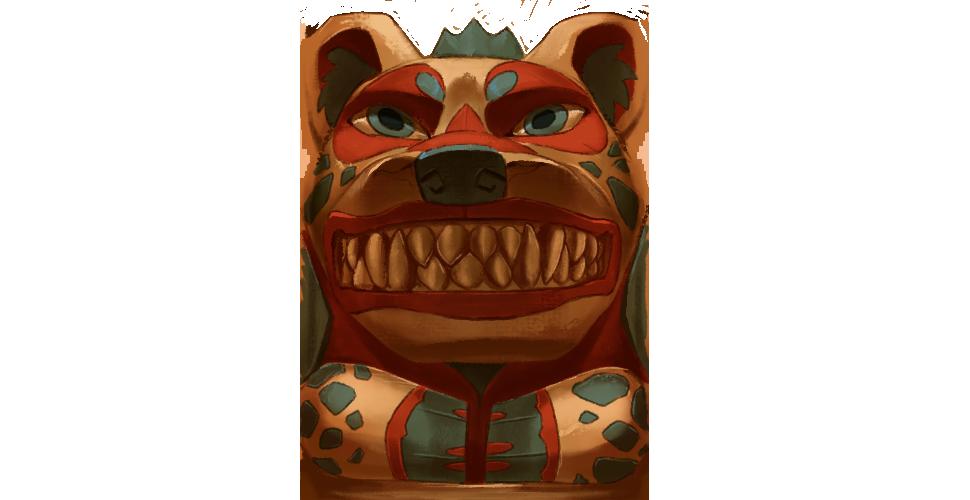 Totem: Hyena by TokoTime