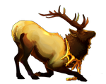 Elk Haven Tribe Companion - Natural by TokoTime