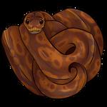 Caramel Ball Python by TokoTime