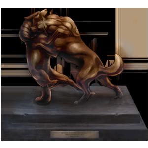 Bronze Dangerous PvP Trophy