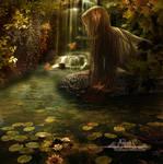 The autumn lagoon