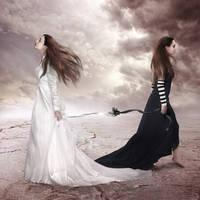 Me versus Me by FrozenStarRo