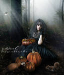 Halloween Preparations by FrozenStarRo