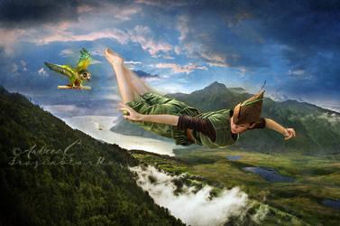 Peter Pan by FrozenStarRo