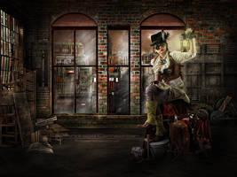 The Steampunk Workshop by FrozenStarRo