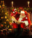 Santa's List by FrozenStarRo
