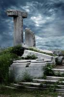 STOCK: Ruins Background by FrozenStarRo