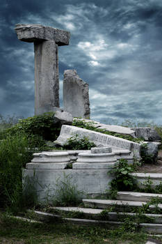 STOCK: Ruins Background