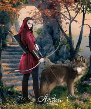 Huntress by FrozenStarRo