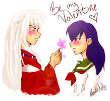 InuKag: Valentine's Day by nor-renee