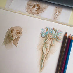 Sketches by nor-renee