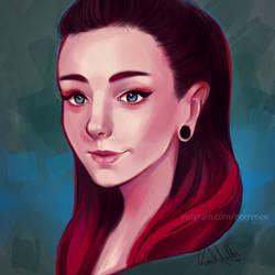 Portrait by nor-renee