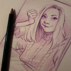 self portrait by nor-renee