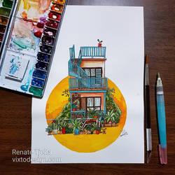 Daikanyama House by nor-renee