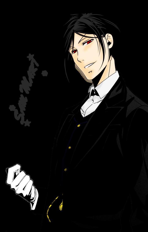 Black Butler Sebastian Cats