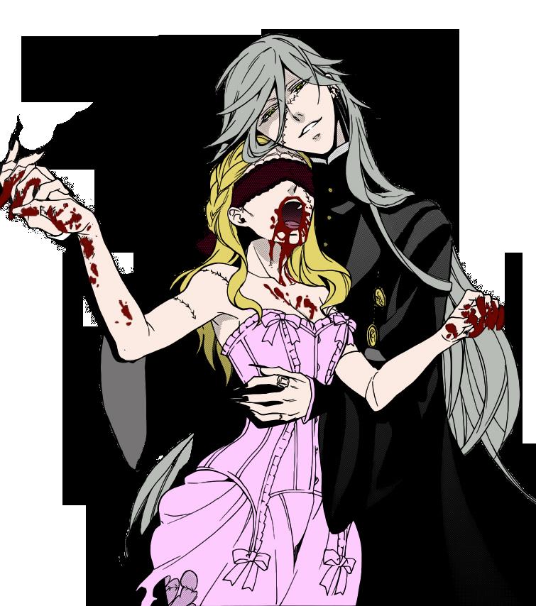 Undertaker And Zombie Girl Render By DulSamMart On DeviantArt