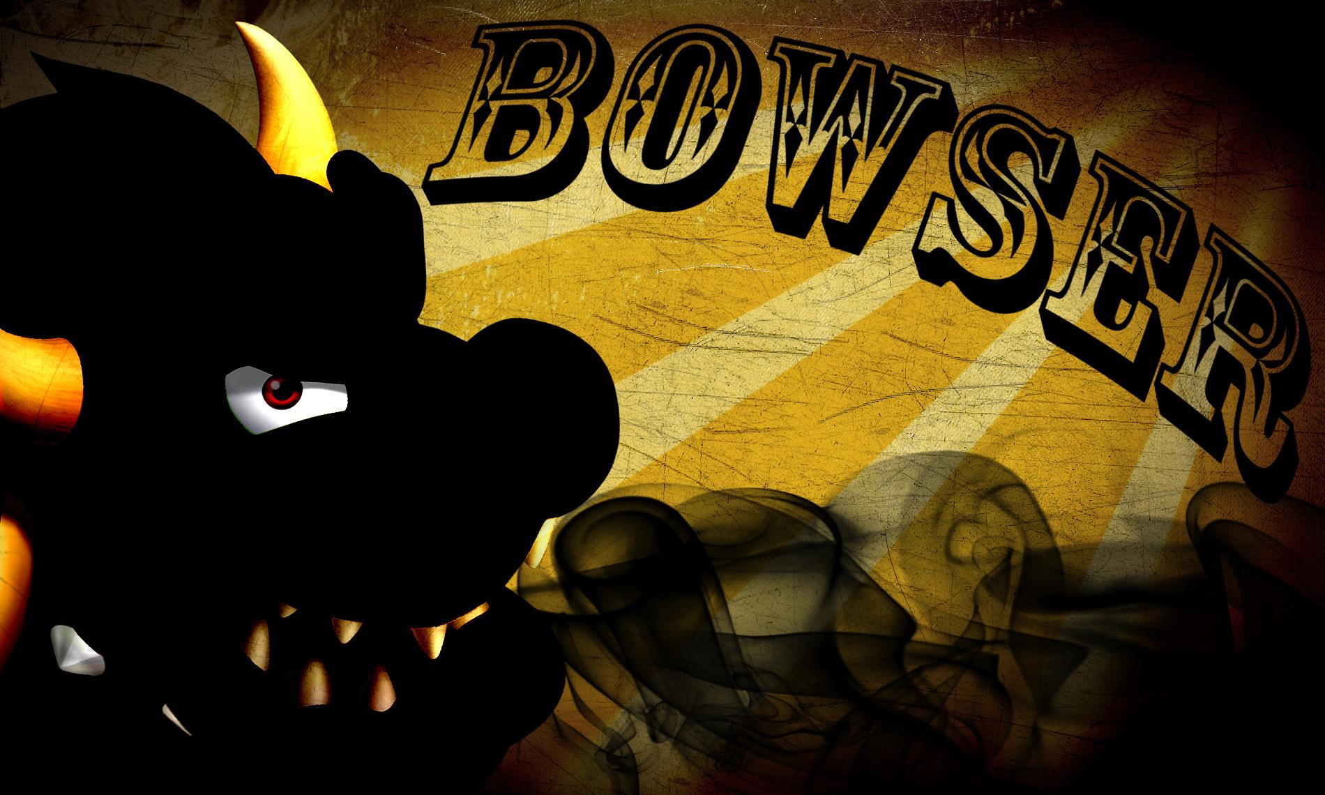 bowser wallpaper silhouette by hermesr0128 on deviantart