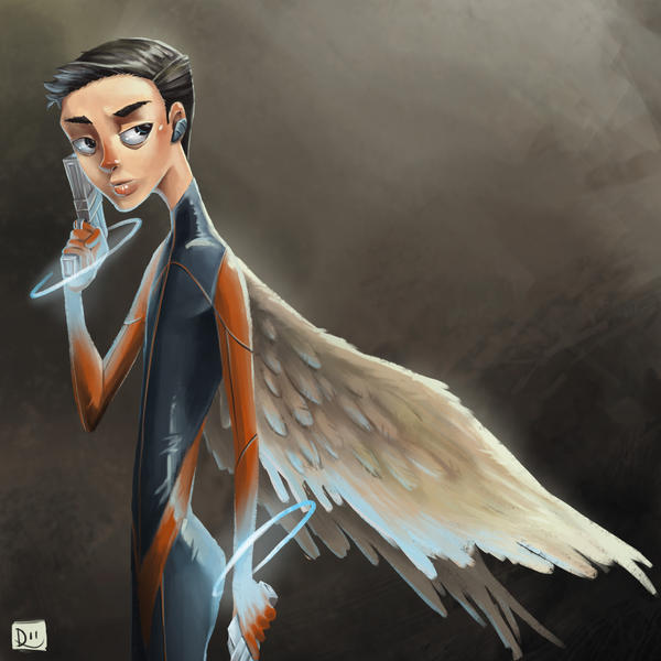 Angelic Spy by daphies