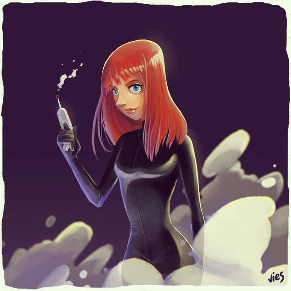 Black Widow by daphies