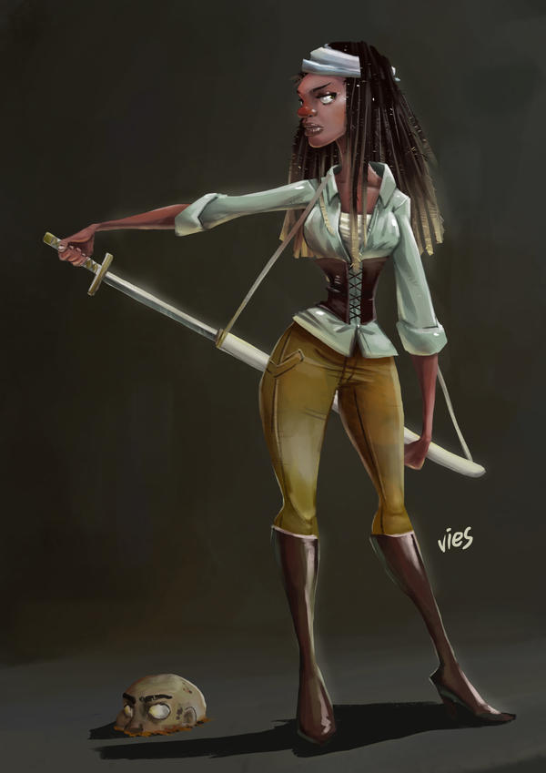 Michonne by daphies