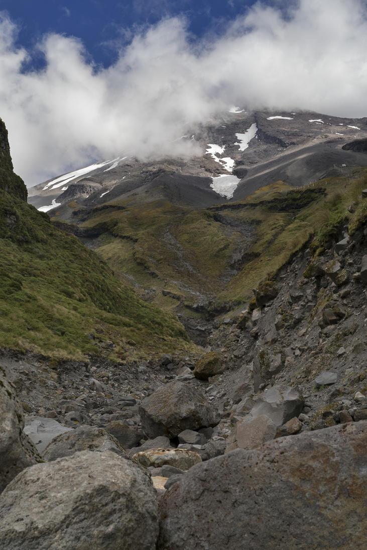 Mt. Taranaki one by KoAltaiTeMaunga