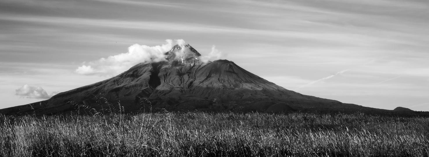 Mt. Taranaki three by KoAltaiTeMaunga