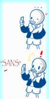 Sans comic 1 by WeepyKing