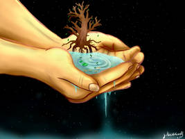 A world in your hands by WeepyKing