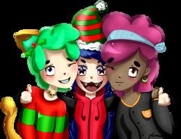 Merry christmas gang! by WeepyKing