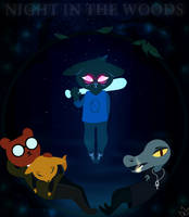 Night in the woods by WeepyKing