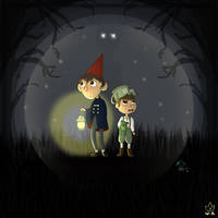 Over the garden wall by WeepyKing