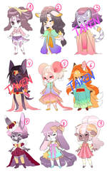 Sweetie Adoptables Auction